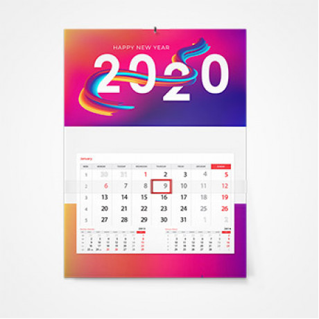Дизайн календарей в Астрахани